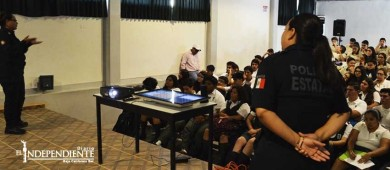 Brinda SSPE orientación sobre ciberbullying a estudiantes de preparatoria