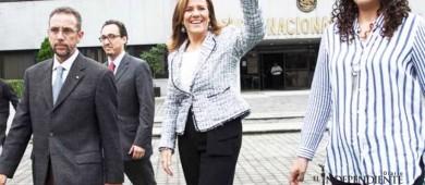 Margarita Zavala, lista para recolectar 866 mil firmas