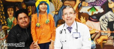 'El Niño del Temblor': Así le salvaron la vida en el Hospital Infantil