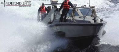 La Marina Armada de México rescata a una persona en las costas de CSL