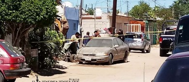 Ejecutan a dos personas en la colonia 3 de Mayo de La Paz