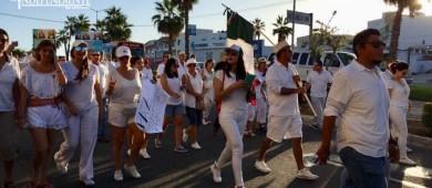 Inicia  marcha por La Paz en Los Cabos