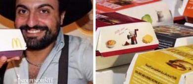 Este hombre tiene una colección de casi 500 cajas de McDonald's
