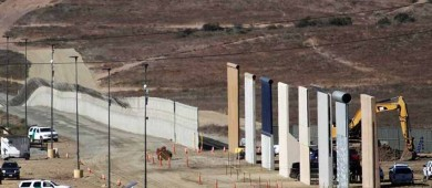 La pesadilla se hizo realidad: ahí viene el muro de Trump