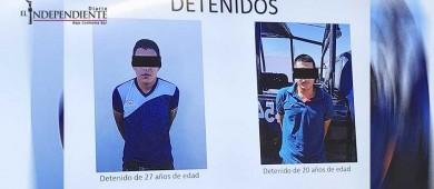 Anuncian la SSP 2 detenidos por hechos violentos en BCS