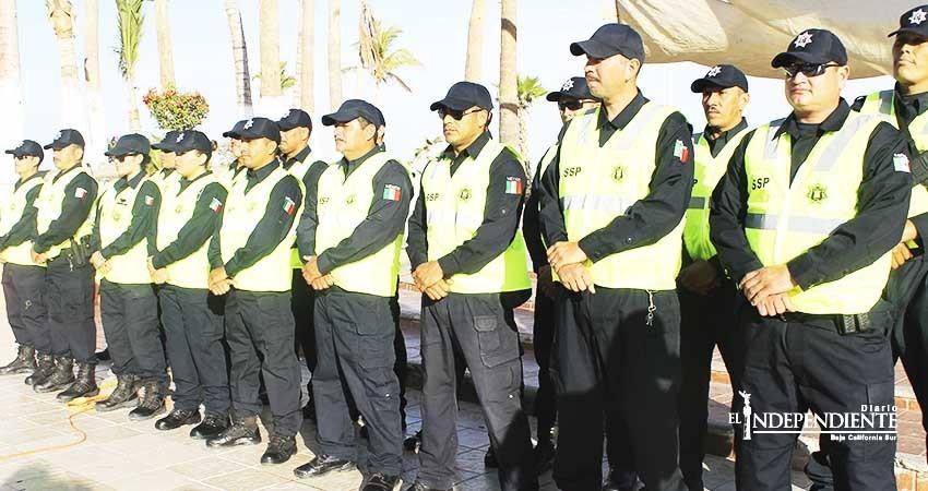 Despedirán a 300 policías de BCS por no aprobar exámenes de Control y Confianza