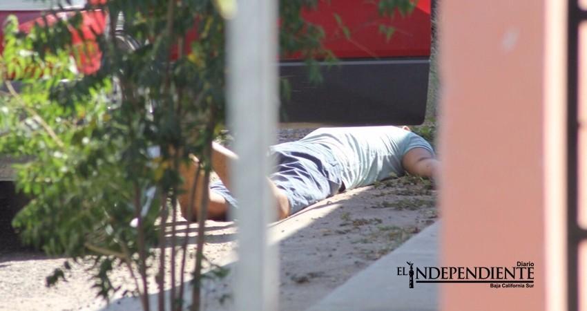 Asesinan a una persona en la colonia Santa Fe en La Paz