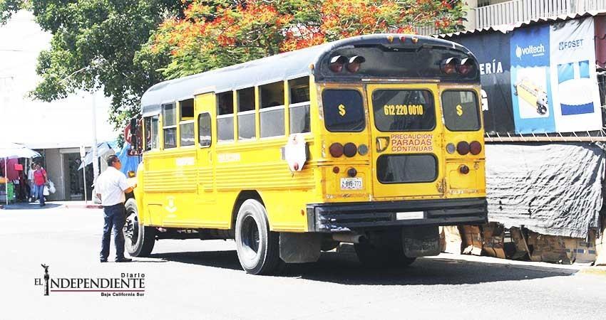 No incrementarán tarifa al transporte público en La Paz