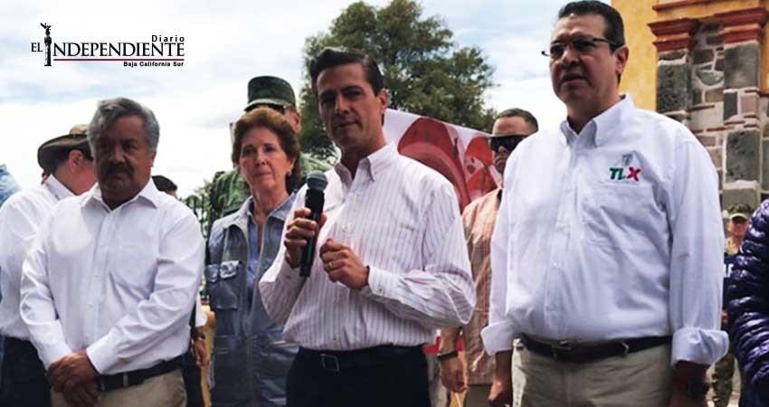 Reconstrucción de escuelas implica inversión de 20 mil mdp: Peña