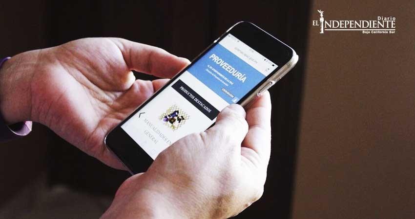 Presenta el Ayuntamiento de La Paz su portal web de proveeduría