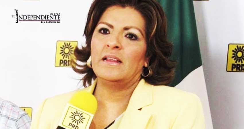 Nombra PRD nueva delegada en BCS; vigilará a las corrientes que quedan