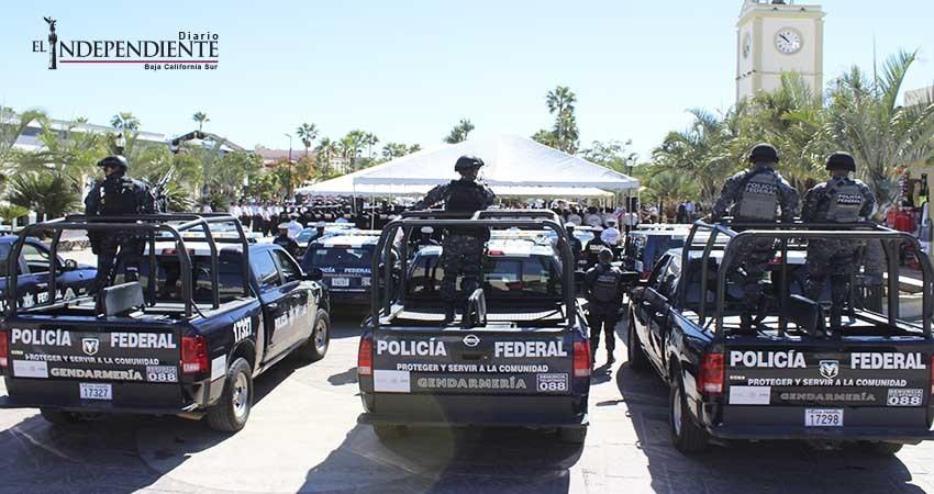 Descartan que fuerzas federales tomen el mando de la seguridad en Los Cabos