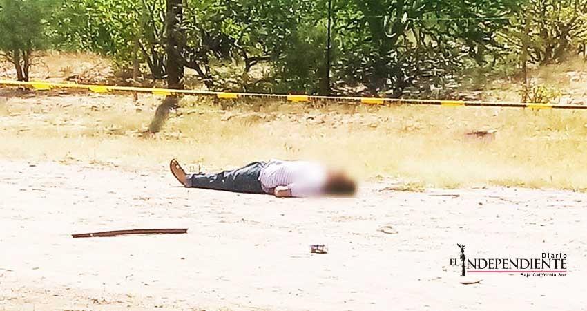 Localizan el cuerpo sin vida de un hombre en La Paz