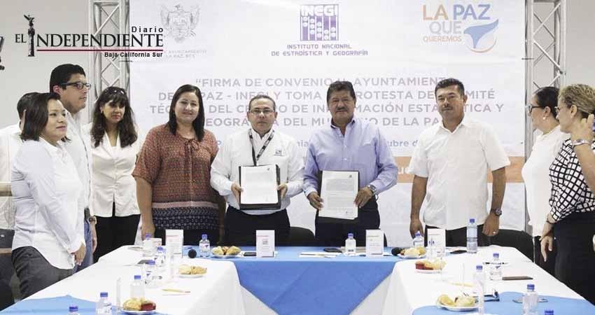 La Paz, contará con un Centro de Información Estadística y Geográfica
