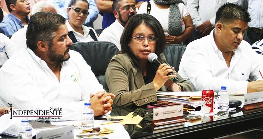 El XV Ayuntamiento de La Paz quedará a deber al ciudadano, reconoce regidora