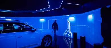'The e-tron room', con la tecnología de Audi, llega a Madrid