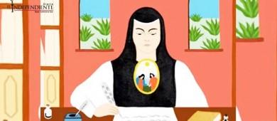 Dedica Google su doodle a Sor Juana Inés de la Cruz
