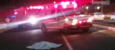 Tragedia dominical; auto embiste y mata a una mujer en CSL