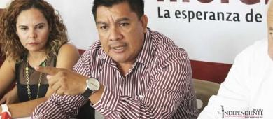 "Vino Meade a ""operar"" la estrategia del PRI en BCS: Morena"