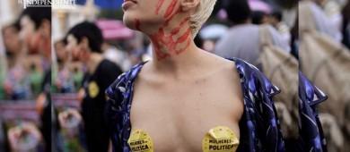 Protestan contra ley que podría vetar todo tipo de abortos