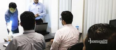 Seguridad en redes tema del curso que imparten a personal de división cibernética de la PGJE