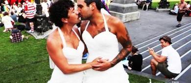 Australianos apoyan que se legalice el matrimonio gay