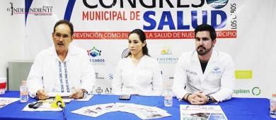 Esta semana inicia en Los Cabos el 1er Congreso Municipal de Salud