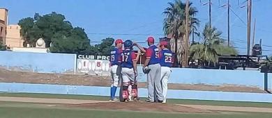 Berrendos del ITESME se mantiene imbatible en el Béisbol de Santa Rosalía