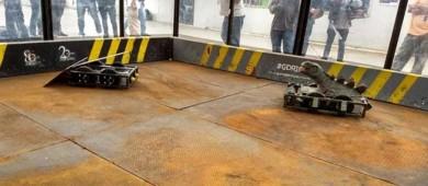 Lucha de poder a poder en el IPN con Guerra de Robots 2017