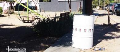 Promoción partidista es disfrazada con limpieza de parques