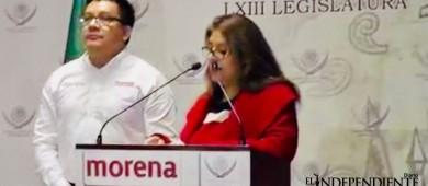 Desde el Congreso de la Unión pide Morena que Mendoza Davis renuncie al cargo