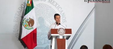 Haremos lo necesario para que las familias de BCS vivan en Paz: Peña Nieto