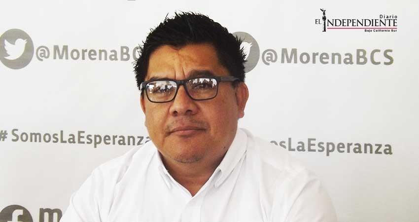 """""""No cerramos comité de Morena en Loreto, sólo cambiamos sede"""": Renteria"""