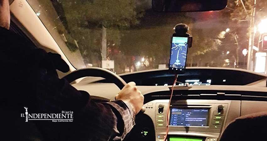Sin concesiones del gobierno inició operaciones Uber en BCS