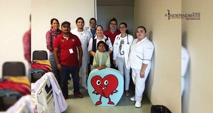 Inició la décima jornada de cirugías cardiacas pediátricas