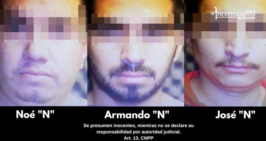 Vinculan a proceso a 3 sujetos por homicidio calificado en La Paz