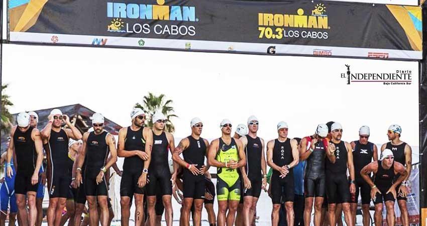 1 mil 600 atletas participarán en el Ironman
