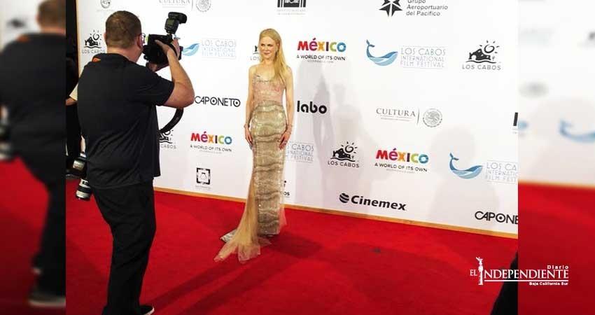 Nicole Kidman engalanó clausura del Festival Internacional de Cine de Los Cabos