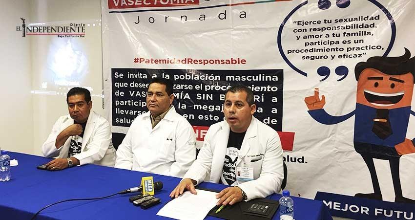 Llevará a cabo Secretaría de Salud jornada gratuita de vasectomías