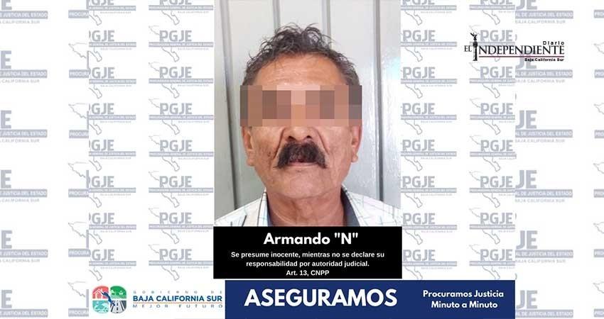 Fue detenido por delitos contra la salud