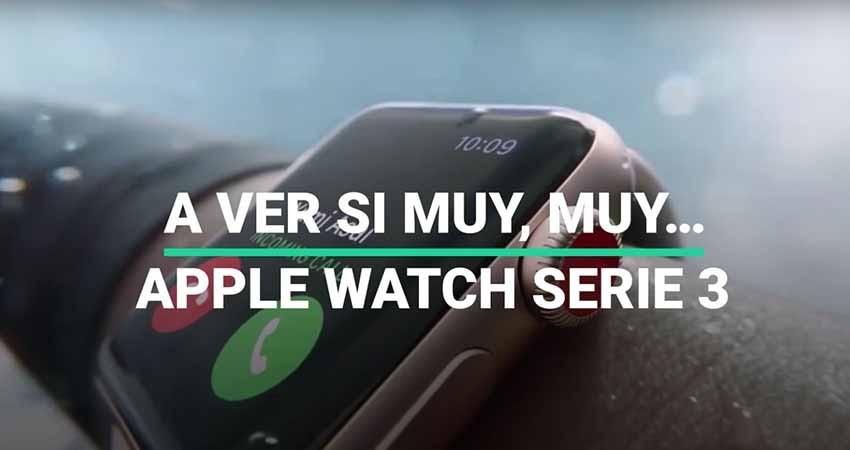 Pusimos a nadar al nuevo reloj de Apple, el Watch Serie 3