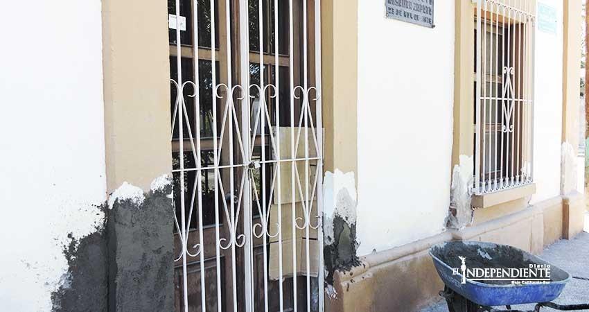 En completo abandono antigua casa de Rosaura Zapata Cano