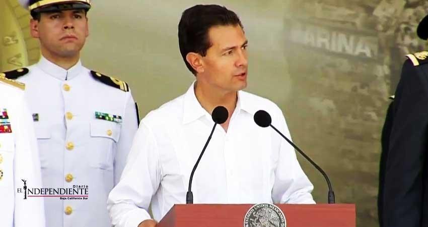 Peña Nieto inaugurará la nueva base aeronaval en BCS