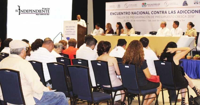 Arranca Encuentro Nacional contra las Adicciones en SJC