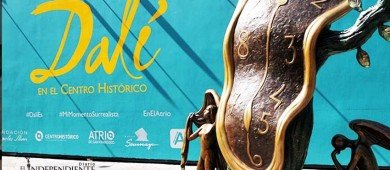 Centro Histórico de la CDMX acoge esculturas de Dalí