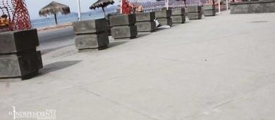 Asegura Colegio de Ingenieros que supervisa remodelación del malecón de La Paz