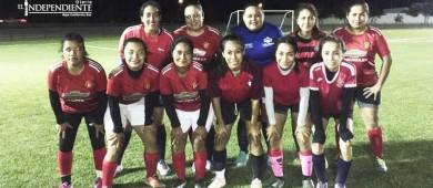 Baja Sur, se corona en la Liga Femenil de Futbol de La Ribera
