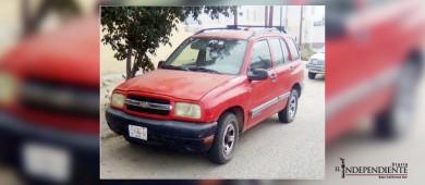Localizan vehículo con reporte de robo en La Paz