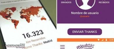 App '100thanks' promueve la gratitud como un movimiento mundial