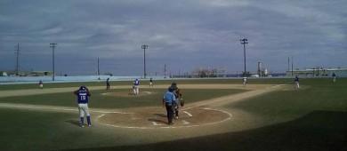 Vibrante empate entre Tecolotes e ITESME en la Liga Industrial de Beisbol de Santa Rosalía